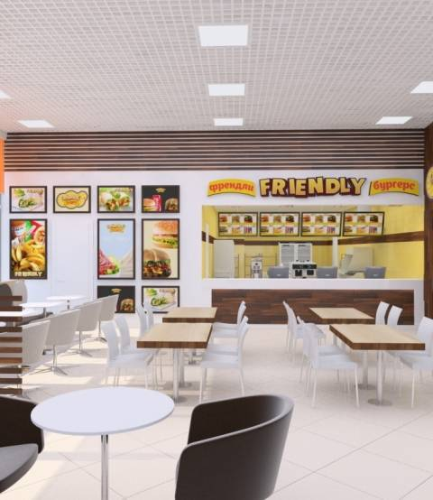 Friendly Foods (Френдли Фудс)  4 ресторана  г. Ангарск и г. Иркутск.